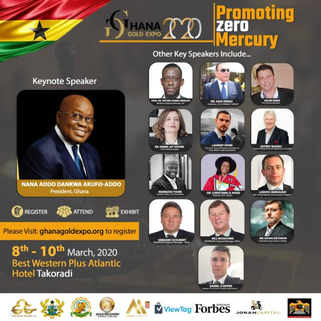 GHANA'S FIRST GOLD EXPO 2020