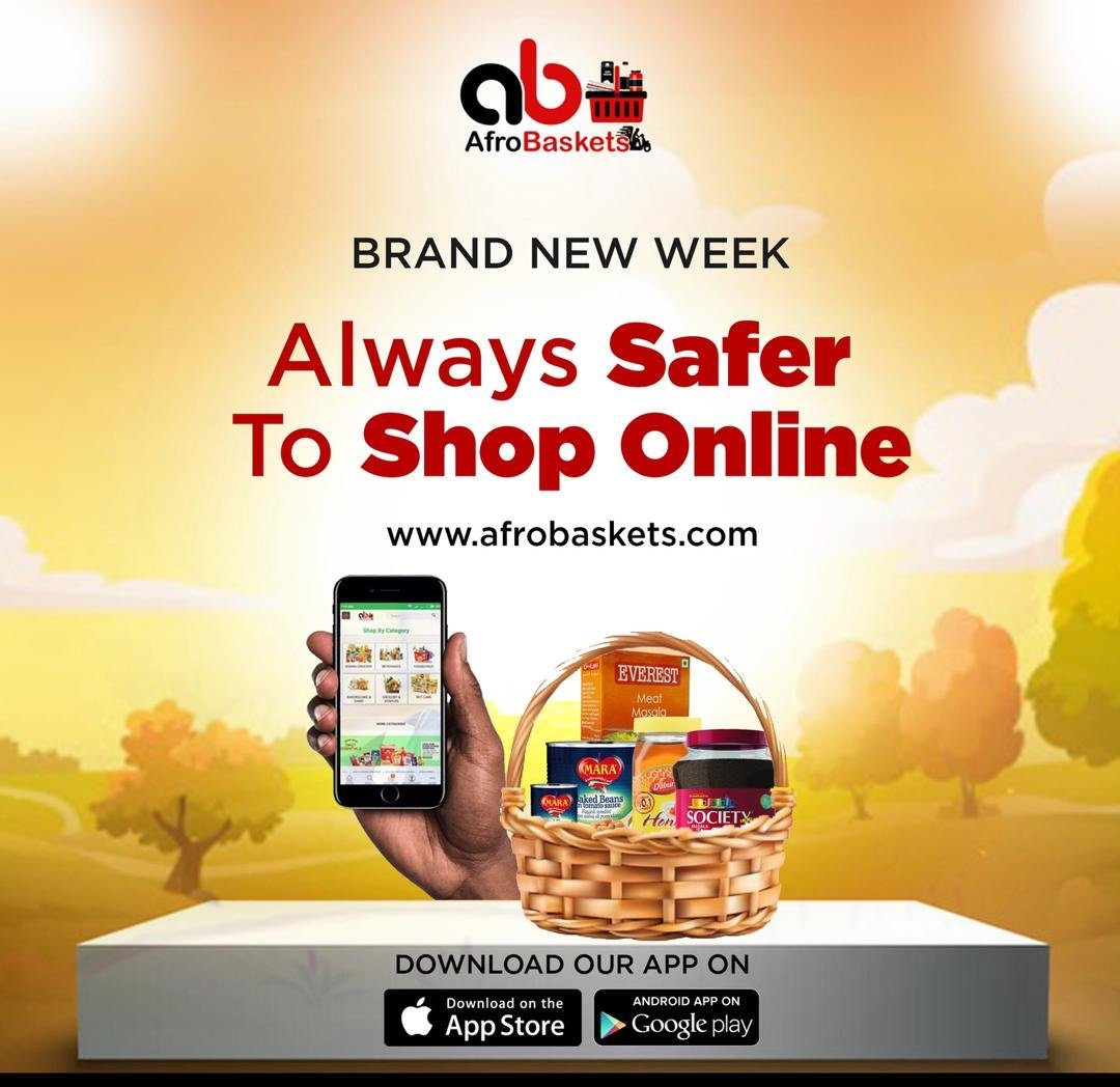 SHOPPING GROCERIES ONLINE MADE EASIER WITH AFROBASKETS