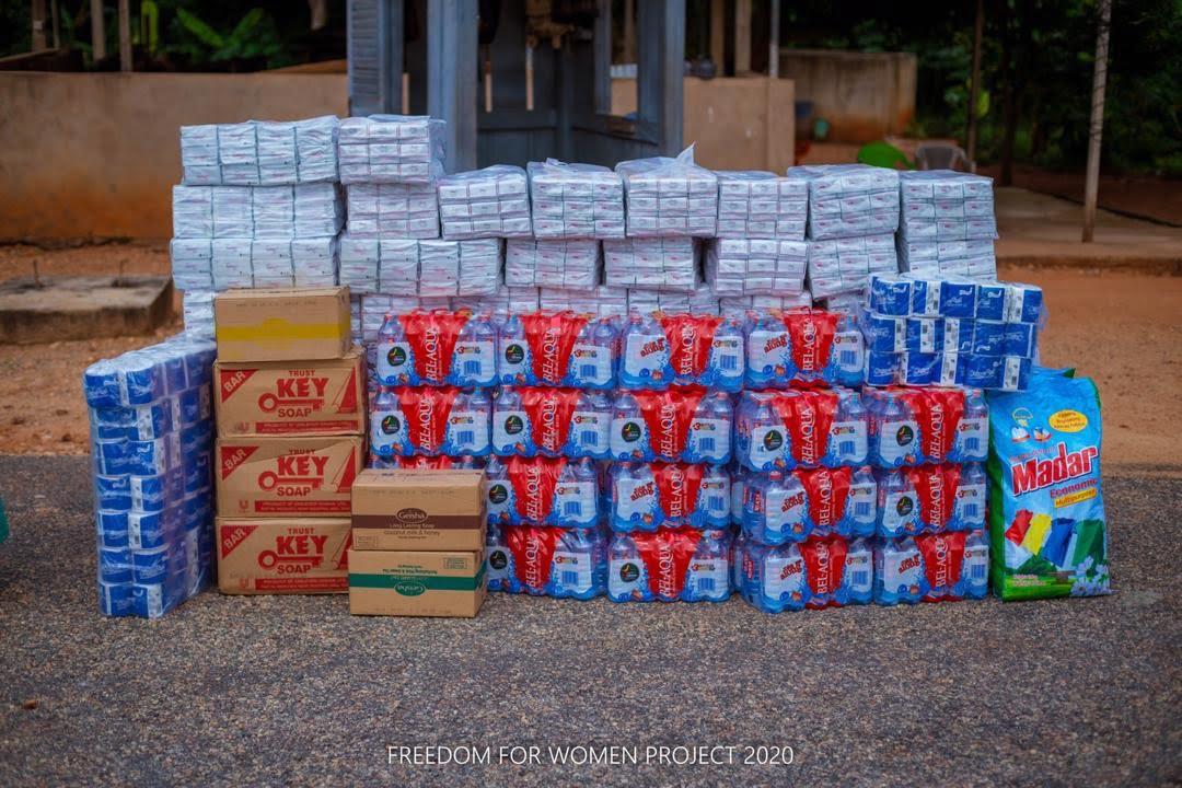 Mercy Heart Foundation Donates to Nsawam Female Prison