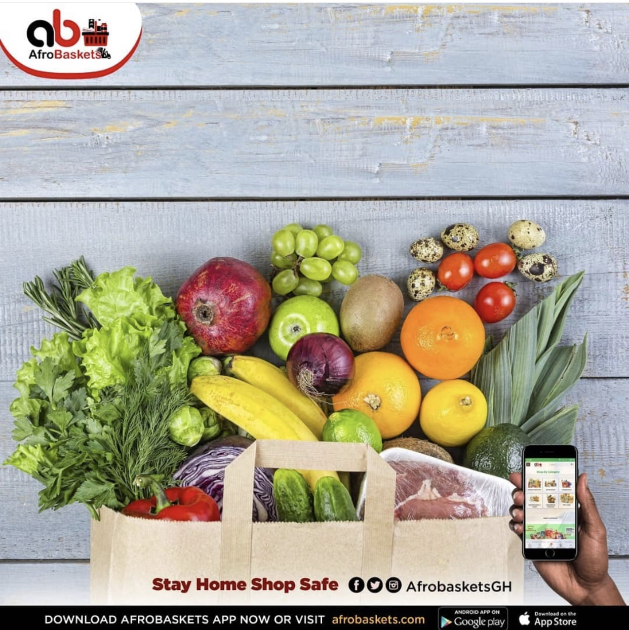 Buy Fruits & Vegetables Online - AfroBaskets