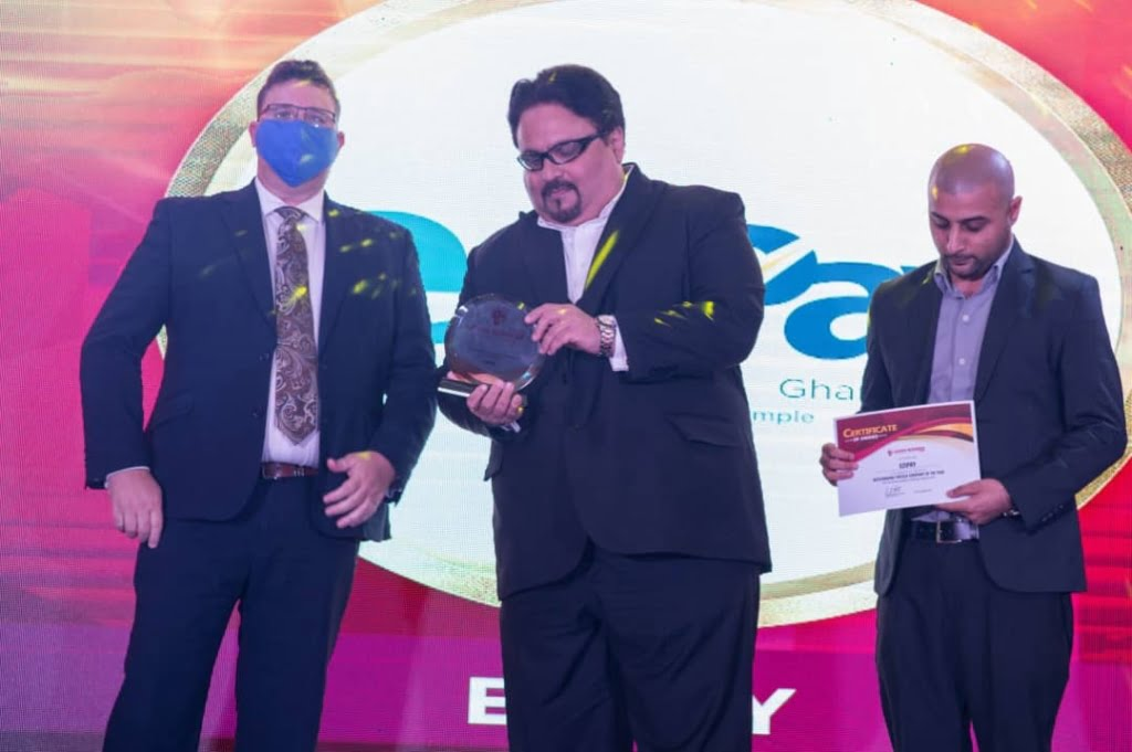 EziPay Wins Outstanding Fintech Company of the year - Ghana Business Standard Awards