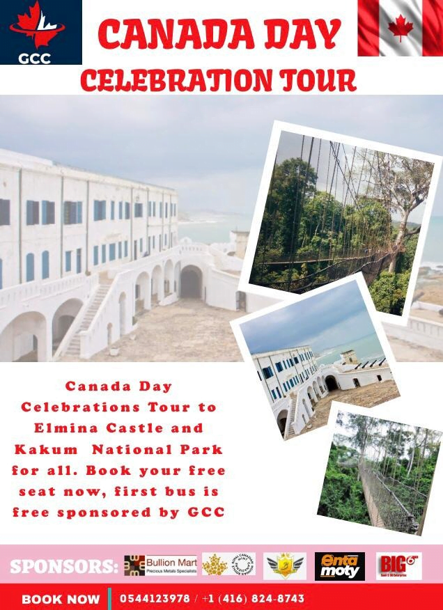 Canada Day and Flag-Raising Ceremony In Ghana.
