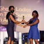 Ghana Ladies in Tech Awards Digital Times Africa As Best Media House Supporting Female Entrepreneurship.