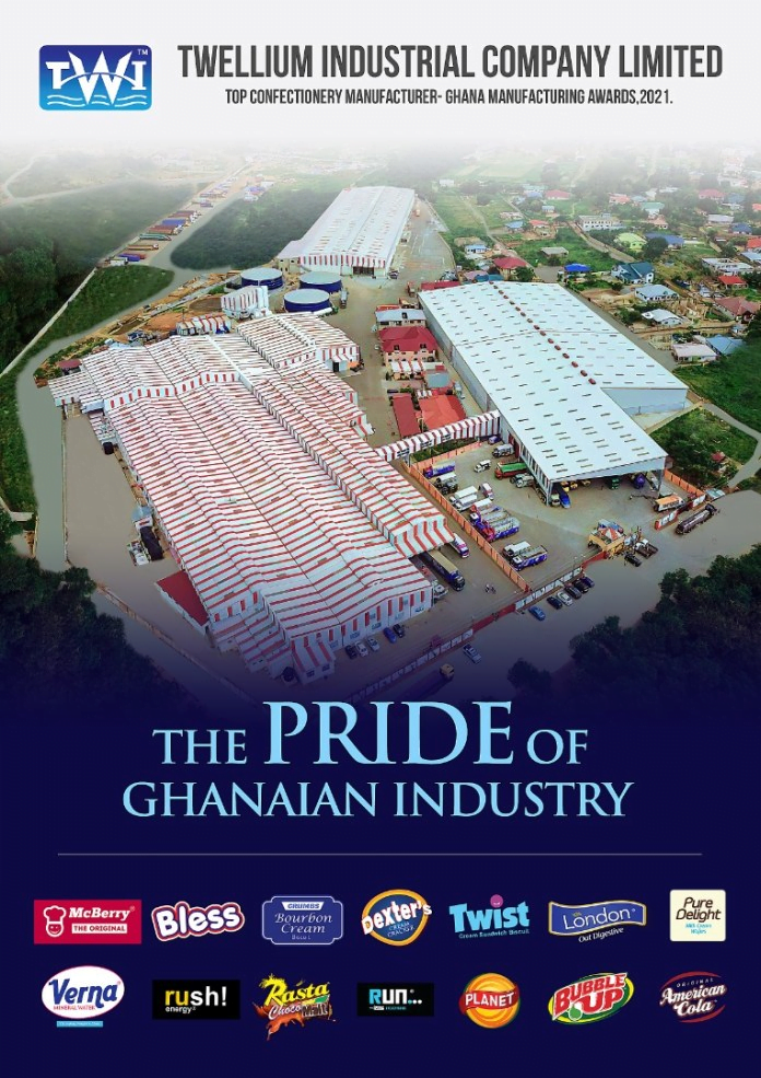 Industrial Revolution Spark Led By Twellium Industries, Rated As One Of The Fastest Growing Manufacturing Company In Africa